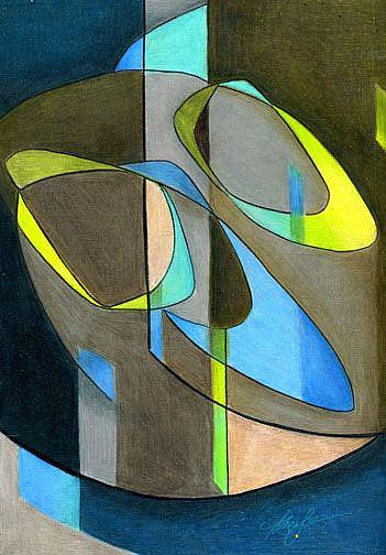 Art: Coming Full Circle by Artist Alma Lee