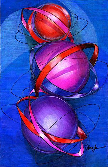 Art: Parallel Universe by Artist Alma Lee