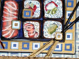 Detail Image for art sushi 1