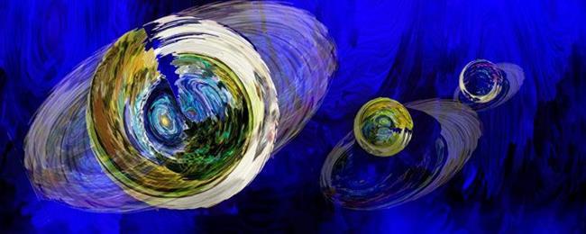 Art: Vincent's World by Artist Alma Lee