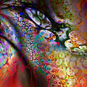 Detail Image for art Fabled Deep Sea Horse
