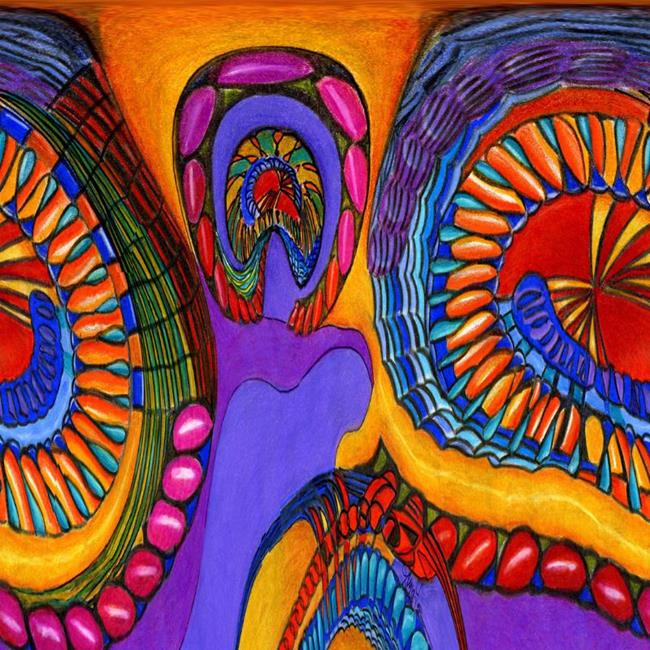 Art: A Kindred Spirit 2 by Artist Alma Lee