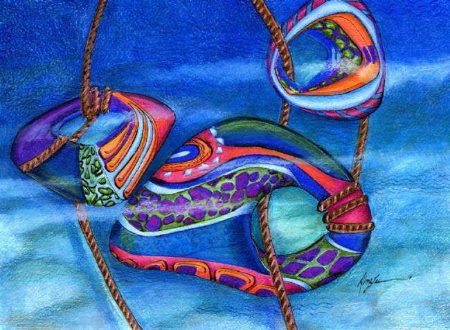 Art: The Mermaid's Garden by Artist Alma Lee
