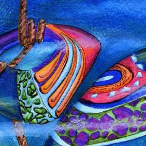 Detail Image for art The Mermaid's Garden