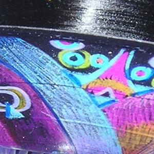 Detail Image for art Love Bowl (repurposed vinyl lp)