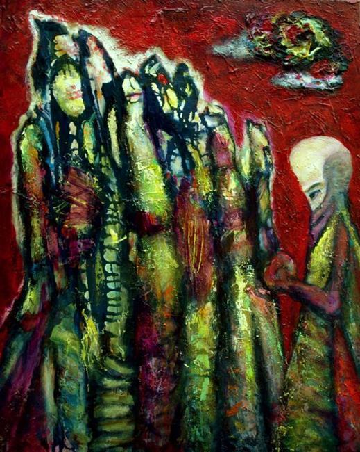 Art: Druids Convention by Artist Virginia Ann Zuelsdorf