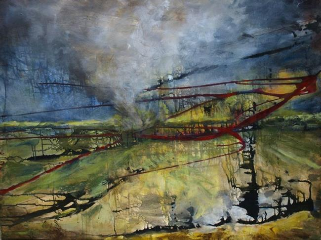 Art: The Tornado by Artist Virginia Ann Zuelsdorf