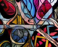 Art: Distraction by Artist Roy Guzman