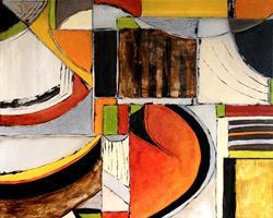 Art: The Grid by Artist Roy Guzman