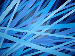 Art: Midnight Sky Song by Artist Lindi Levison