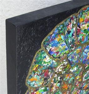 Detail Image for art Ammonite Collage - available in my ebay store