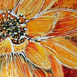 Detail Image for art BATIK DAISY
