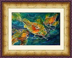 Detail Image for art BATIK KOI 01