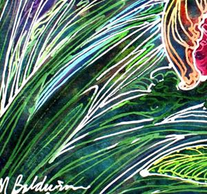 Detail Image for art PARROT TULIP BATIK