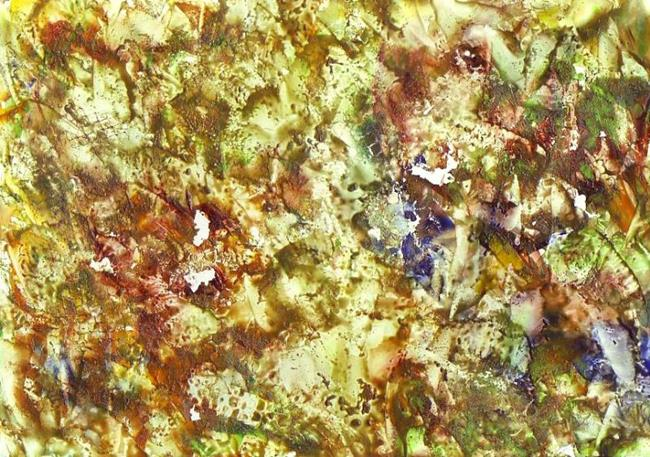 Art: Abstract # 132 by Artist Ulrike 'Ricky' Martin