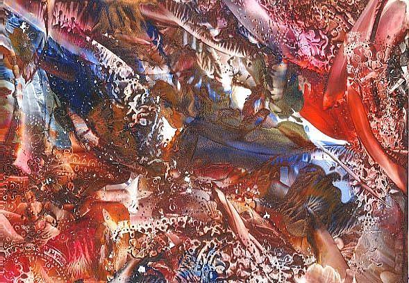 Art: Abstract # 71 by Artist Ulrike 'Ricky' Martin