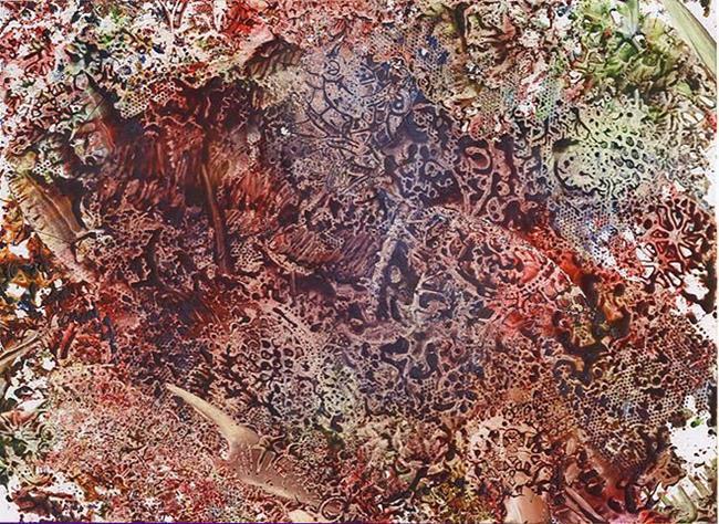 Art: Abstract # 122 by Artist Ulrike 'Ricky' Martin