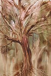 Art: WINTER TREE - sold by Artist Ulrike 'Ricky' Martin