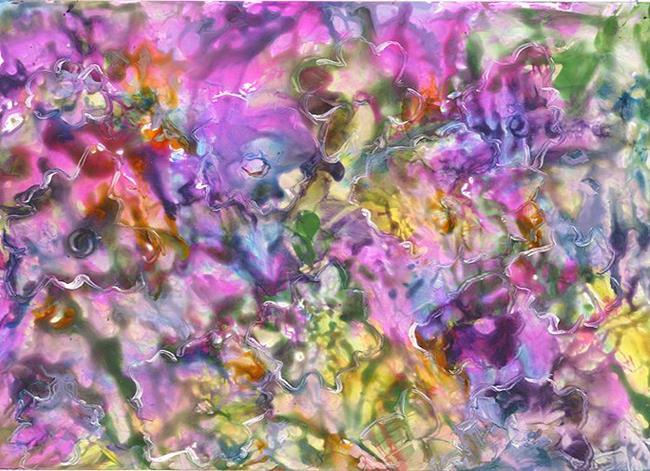 Art: Crazy Flowers -sold by Artist Ulrike 'Ricky' Martin