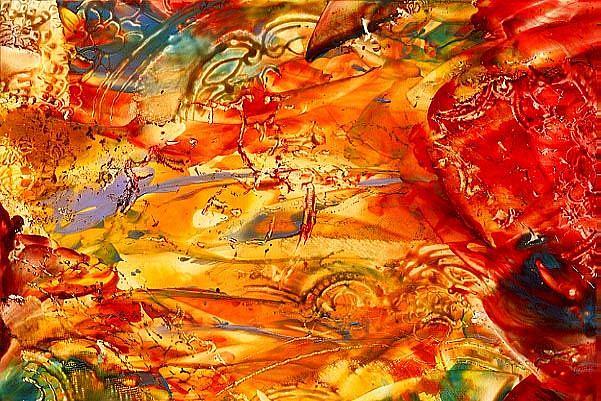 Art: Abstract # 70 by Artist Ulrike 'Ricky' Martin