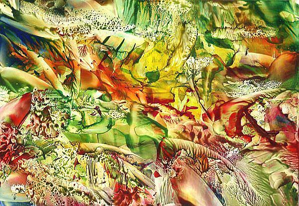 Art: Abstract # 89 by Artist Ulrike 'Ricky' Martin