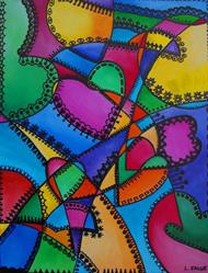 Art: ...With All My Heart by Artist Lindi Levison