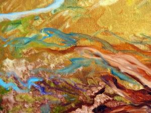 Detail Image for art ABSTRACT WILD HORSES