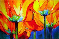 Art: From Beneath the Golden Poppies by Artist Marcia Baldwin