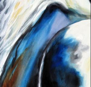 Detail Image for art GYPSY VANNER MODERN ABSTRACT