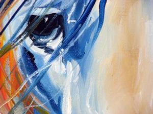 Detail Image for art FIRE THUNDER EQUINE