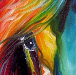Detail Image for art EQUINE LOVE