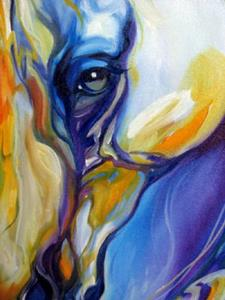 Detail Image for art ARABIAN ABSTRACT by M BALDWIN