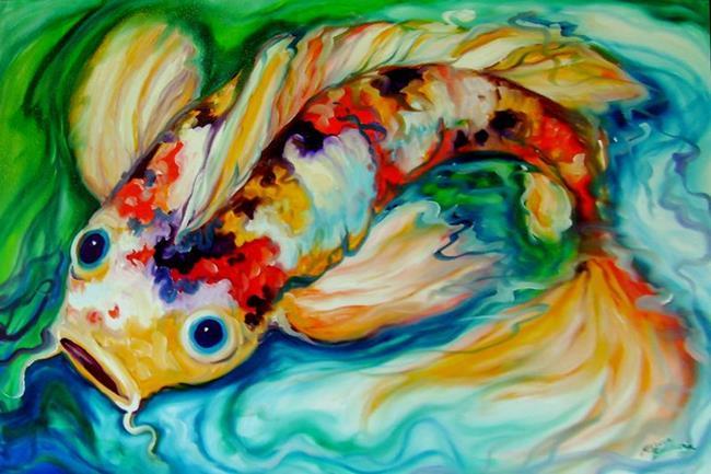 Art: KOI UNO by Artist Marcia Baldwin