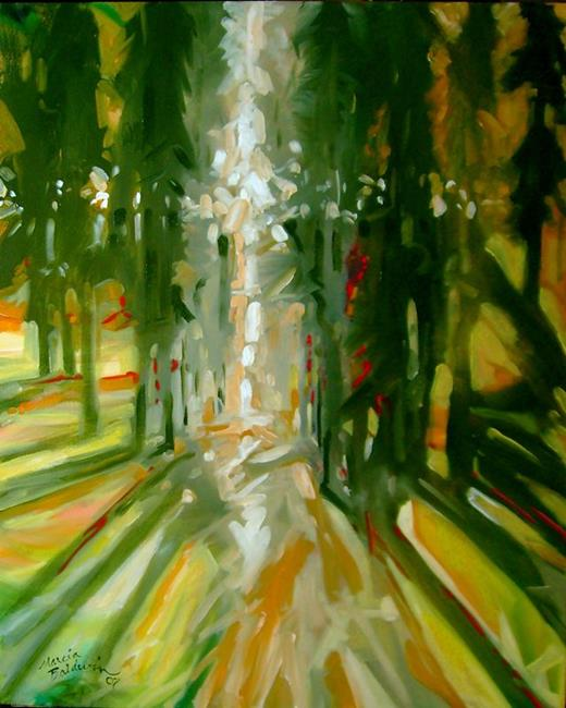 Art: INTO THE LIGHT by Artist Marcia Baldwin