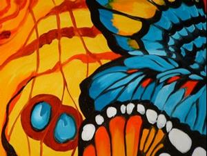 Detail Image for art BUTTERFLY ABSTRACT II