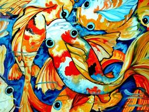 Detail Image for art TEN KOI FUN