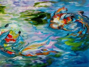 Detail Image for art KOI PARTY