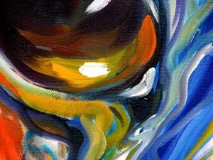 Detail Image for art EQUINE EYE of TRUST