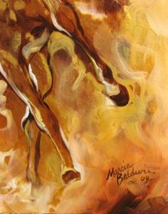 Detail Image for art GOLDEN STORM EQUINE
