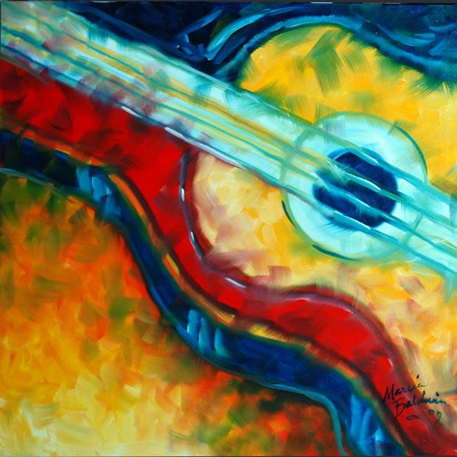 abstract guitar 2020 by marcia baldwin from abstracts. Black Bedroom Furniture Sets. Home Design Ideas