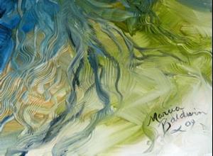 Detail Image for art BLUE GHOST FREISIAN EQUINE