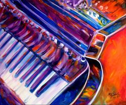 Art: ABSTRACT PIANO 2420 by Artist Marcia Baldwin