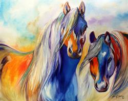 Art: SUN & SHADOW  by Artist Marcia Baldwin