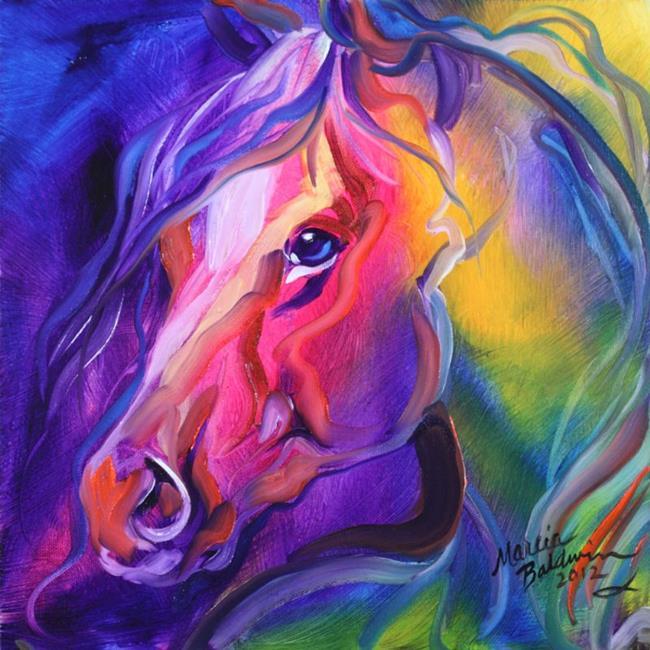 Art: EQUINE PRISM 1 by Artist Marcia Baldwin