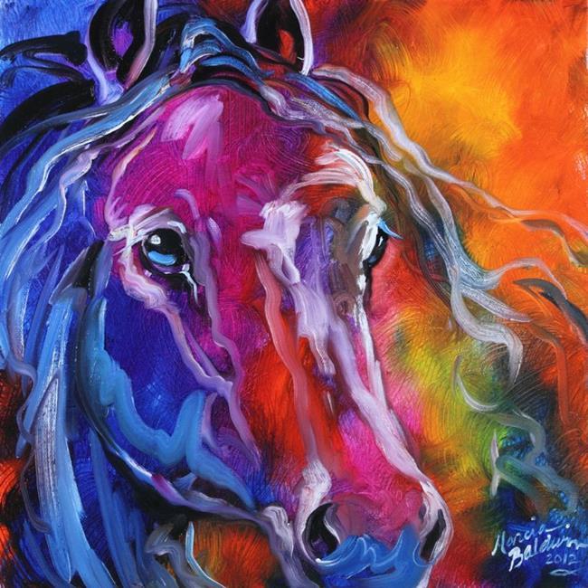 Art: EQUINE PRISM II by Artist Marcia Baldwin