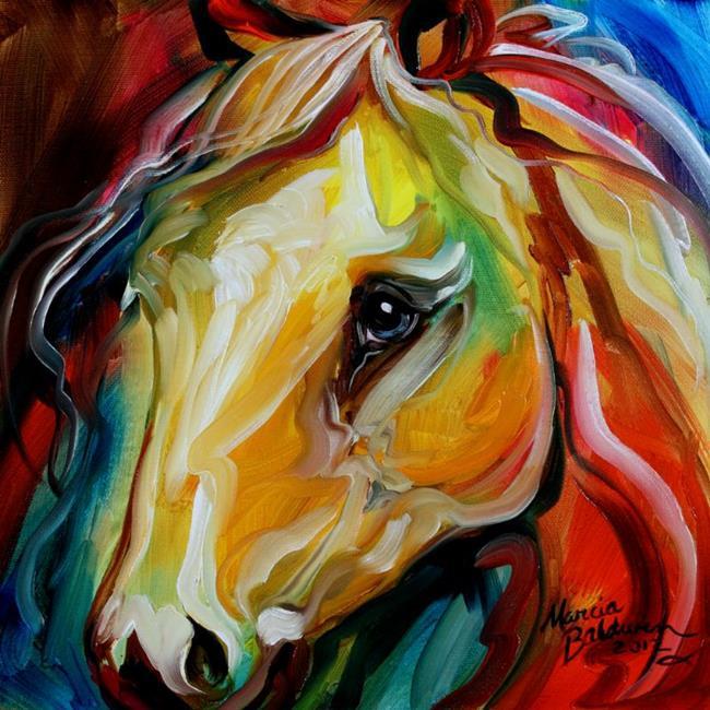 Art: EQUINE PRISM IV by Artist Marcia Baldwin