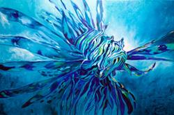 Art: LIONFISH 3624 by Artist Marcia Baldwin