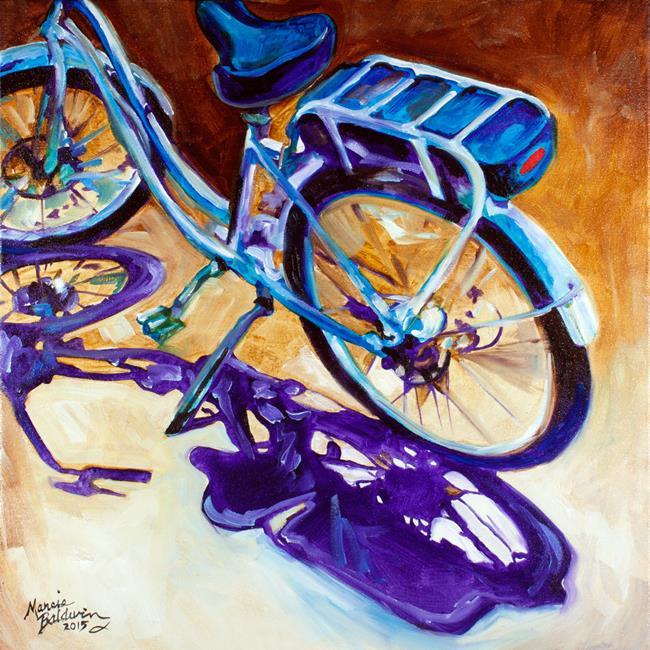 Art: THE CRUISER by Artist Marcia Baldwin