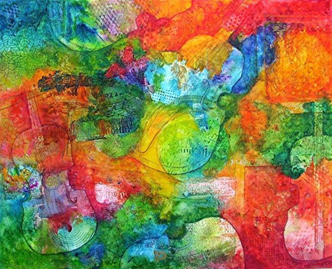 Art: Instrumental Abstract by Artist Ulrike 'Ricky' Martin