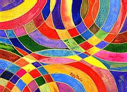 Art: Intertwined - sold by Artist Ulrike 'Ricky' Martin